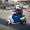 Paris se met au scooter électrique libre service