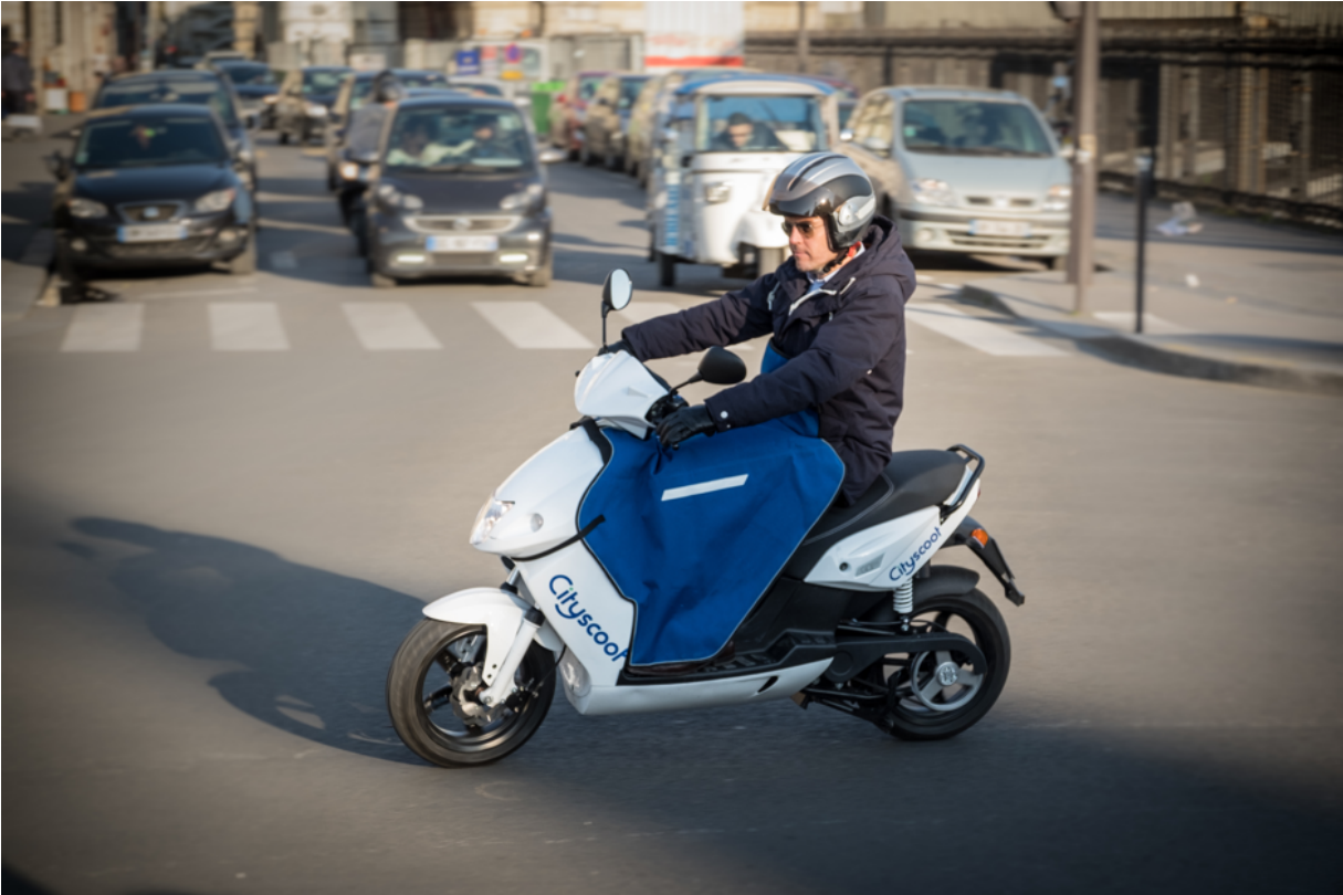 paris scooter électrique