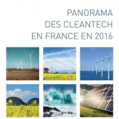 Panorama des Cleantech en France en 2016