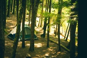 Microstation pour un camping