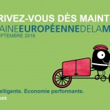 Semaine européenne de la mobilité du 16 au 22 septembre 2016