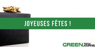 Toute l'équipe de GreenTech Journal vous souhaite de joyeuses fêtes !