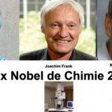 Jacques Dubochet, Richard Henderson et  Joachim Frank décrochent le prix de la chimie 2017
