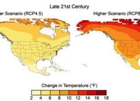 Le rapport national sur le climat révèle les augmentations de la température causées par l'activité humaine dans le monde depuis 1950