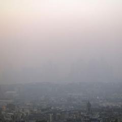 Augmentation du pic de pollution aux particules fines en France
