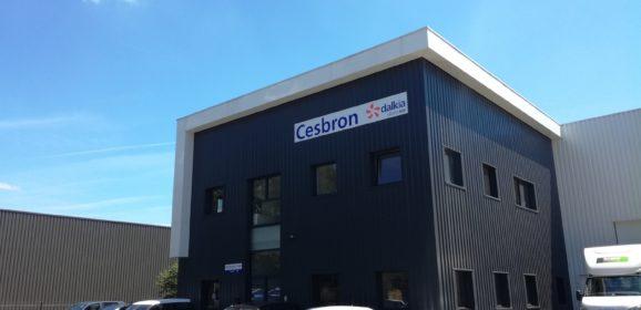 Cesbron a inauguré ses nouveaux locaux à Nantes